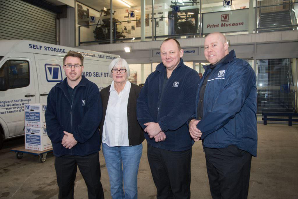 East London Vanguard Storage Staff