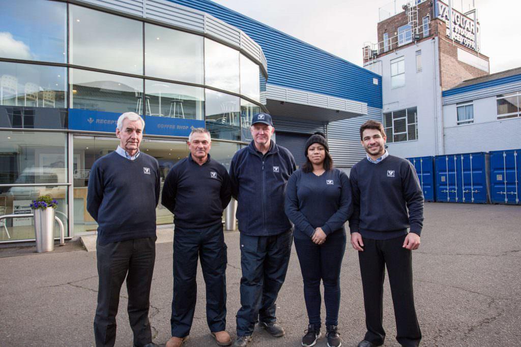 Staff At West London Vanguard Self Storage