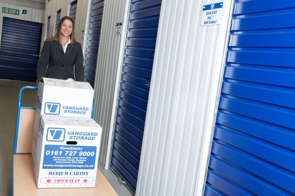Manchester Storage Unit Porter