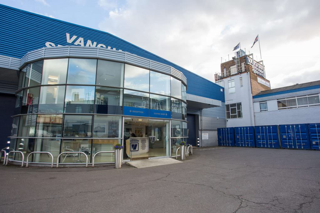 Front Entrance Of Vanguard Self Storage West London