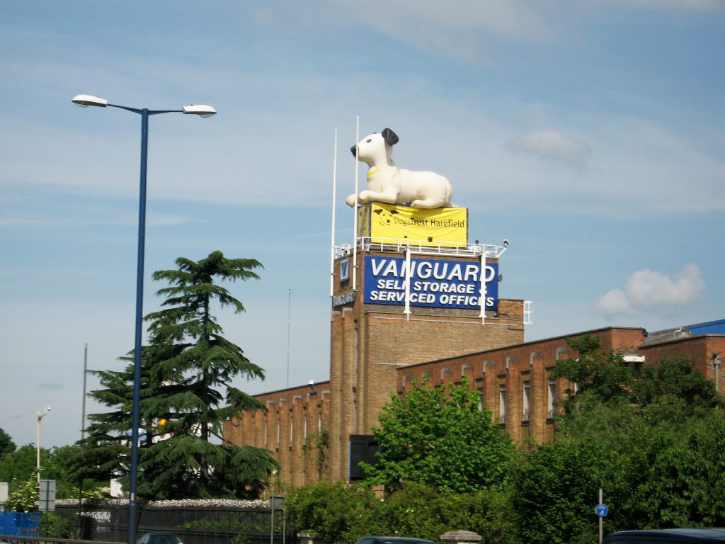 Nice Roof Of West London Storage Depot. Vanguard ...