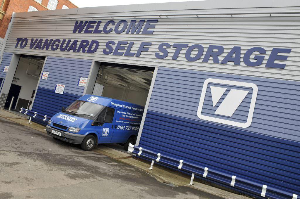 Self Storage In Salford Prestwich Amp Manchester Vanguard