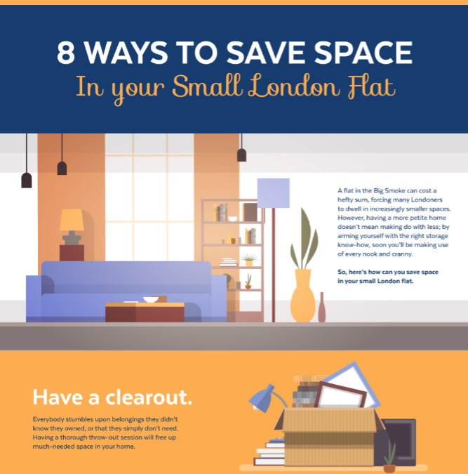 8 ways to save space in your small london flat with