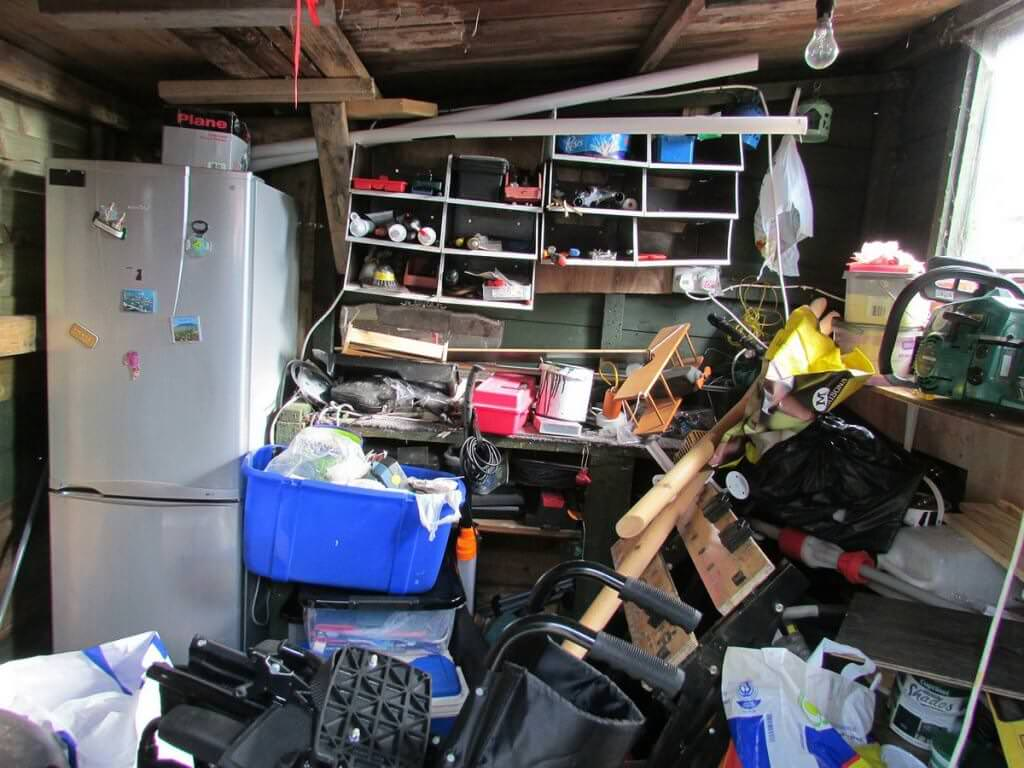 messy home