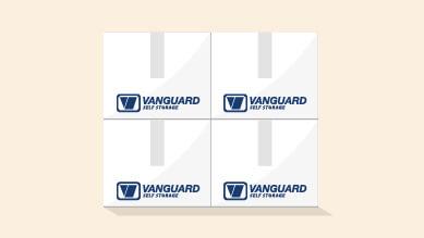 uniformly sized storage boxes